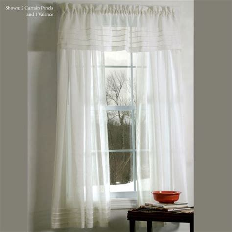 Sheer Window Treatments by Galway Pleat Accented Semi Sheer Window Treatment