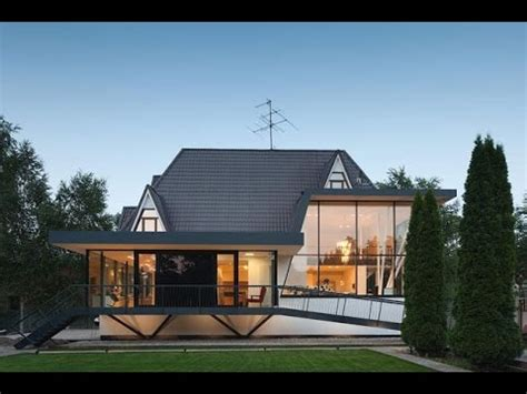 modern european cottage combination  modern house