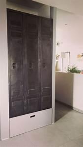 vestiaire industriel restaure pour l39amenagement du With meubles d entree vestiaire 13 meuble industriel decoration industrielle meuble de