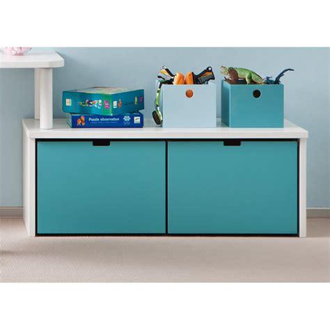 meuble chambre de bébé meuble de rangement avec 2 grands caissons à