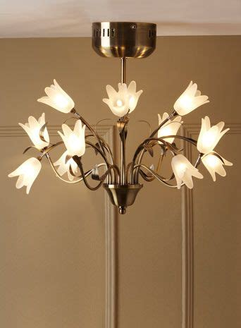 elsie 12 light flush ceiling fitting offers home lighting furniture bhs living