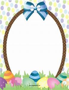 Easter Basket Border