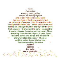 Poems About Autumn Leaves
