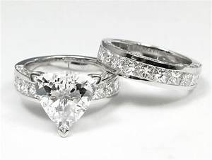 wedding rings trillion cut engagement rings 2 carat With trillion cut diamond wedding rings