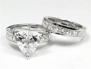 wedding rings trillion cut engagement rings 2 carat With trillion cut wedding rings