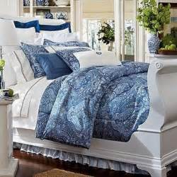 chaps by ralph brentwood comforter navy paisley new ebay