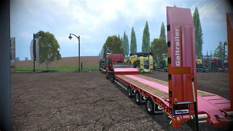 loader galtrailer sc  clean  fs  farming