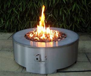 Gas Feuerstelle Outdoor : arcturus round firepit table gas fire pits ~ Michelbontemps.com Haus und Dekorationen