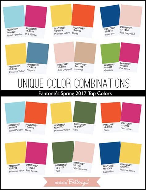 two color combinations unique wedding color combinations using pantone s
