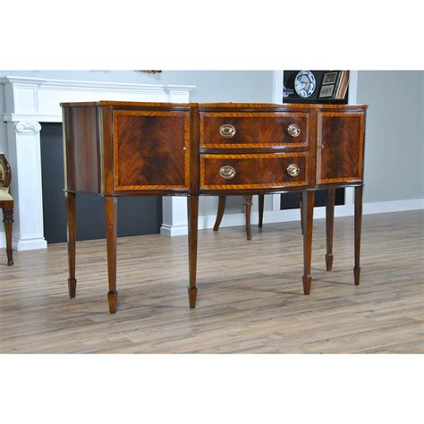 Classic Sideboard Furniture by Banded Mahogany Sideboard Niagara Furniture Classic