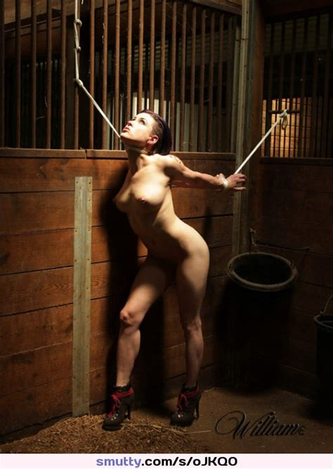 Nude Naked Bdsm Bondage Rope Ropes Tied Tiedup