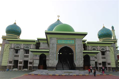 masjid agung  nur wikipedia bahasa indonesia