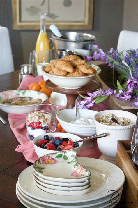 Brunch Buffet For 4 Domestic Charm
