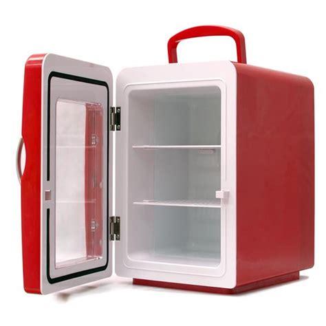 scanner de bureau mini frigo 4 litres coloris porte transparente