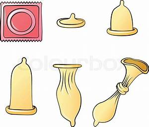 Condom  Contraception  Condoms Painted In A Variety Of