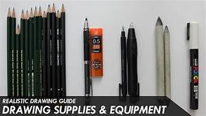 Drawing Supplies  U0026 Equipment  What You Need