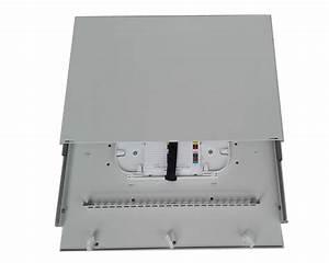 Fiber Optic Patch Panel Guide Rail Rack Mounted Odf 12  24