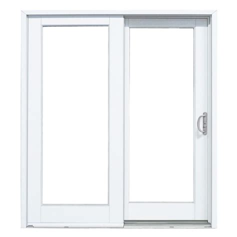 mp doors 60 in x 80 in smooth white right composite