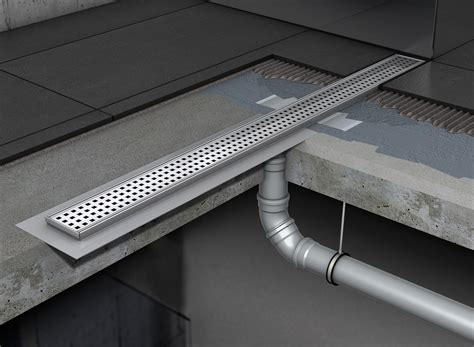 aco shower drain water drainage for floor showers using aco shower