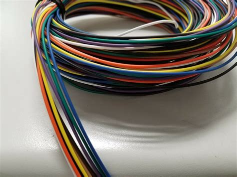 automotive wire 22 awg high temp txl wire 9 colors
