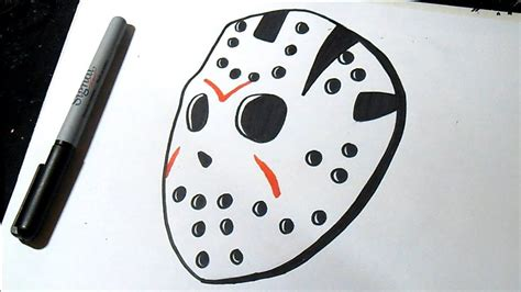 jason mascara dibujar graffiti como desenhar masque grafite dessiner comment como
