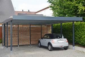 Carport Maße Für 2 Autos : carport aus stahl myport ~ Michelbontemps.com Haus und Dekorationen
