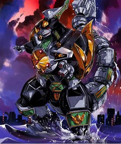 Dragonzord Deviantart Rangers Power Ranger Special Hinomars19
