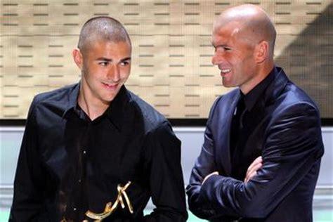quand zidane recadre benzema football maxifoot