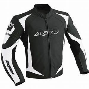 Blouson De Moto : blouson moto cuir ixon revenge noir blanc prix discount pas cher promotion ~ Medecine-chirurgie-esthetiques.com Avis de Voitures