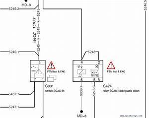Daf Xf105 And Xf106 Electrical Wiring Diagrams Pdf Download