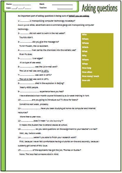 all worksheets 187 wh question worksheets printable