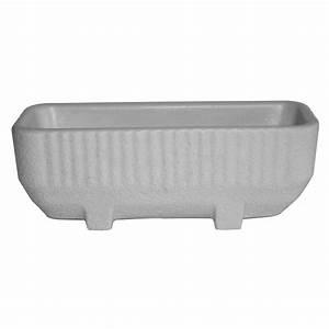 Bac A Eau Plastique : bac rectangulaire avec r serve d 39 eau gris 28 litres ~ Dailycaller-alerts.com Idées de Décoration