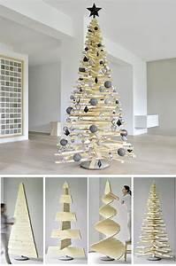 Weihnachtsbaum Holz Groß : last minute christbaum basteln holz weihnachtsbaum anleitung weihnachtsdeko ideen zenideen ~ Markanthonyermac.com Haus und Dekorationen