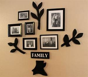Stylish wall frames nationtrendzcom for Family wall art