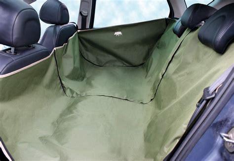 housse pour siege de voiture bache de protection poils de chien dans voiture banquette ar