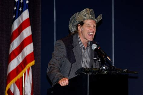 ted nugent rips michigan      sweaty teddy