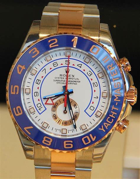 Luxury Watches News Blog: Rolex Yacht-Master II Regatta ...