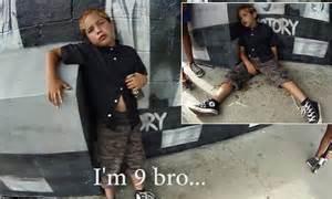 disturbing video emerges  drunk  abusive boy