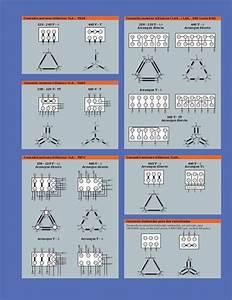 Conexiones Para Motores Trifasicos