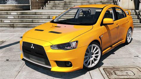 Mitsubishi Lancer Evo X Gta5modscom