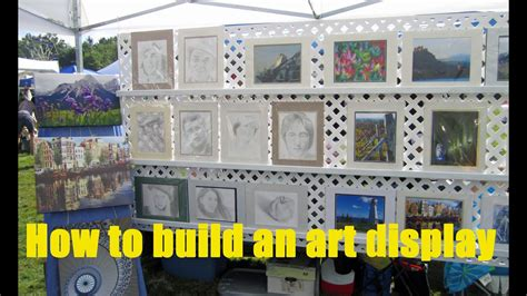 build  display  art  craft shows youtube