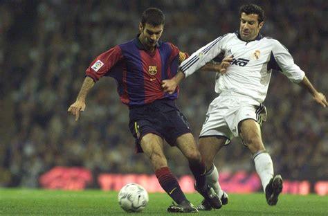 Deporvito | Luis Figo traiciona a Real Madrid al dar su ...