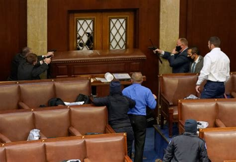 White House Condemns Violence at Capitol, Assures 'Orderly ...