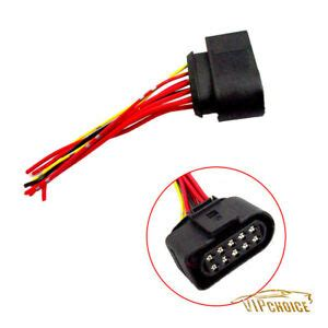 Headlight Wiring Pigtail Plug Connector For Beetle Golf