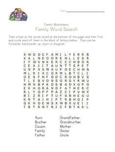 family members images family worksheet english