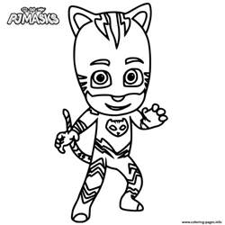 PJ Catboy Masks Coloring Pages Printable