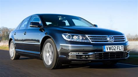 Volkswagen Phaeton Review   Top Gear