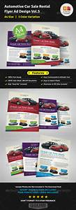 Automotive Car Sale Rental Flyer Ad Template Vol 5 By Jbn