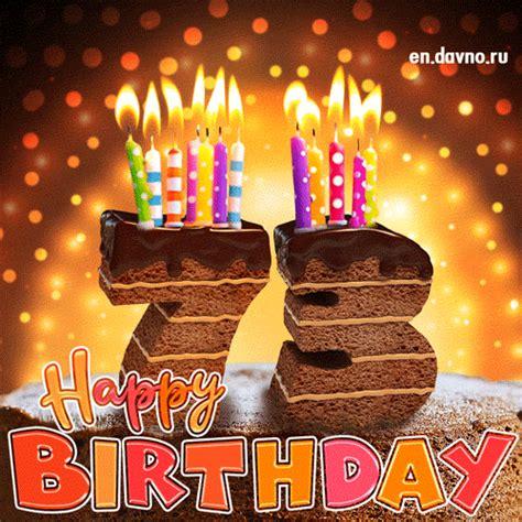 birthday card chocolate cake  candles