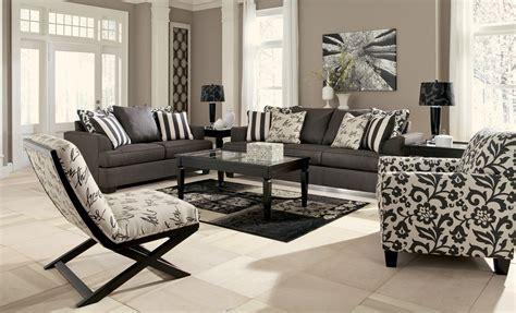 levon charcoal living room set  ashley